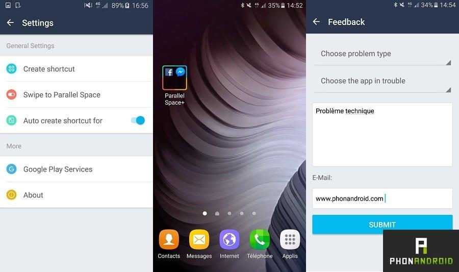 utiliser tous vos comptes sur une application Android