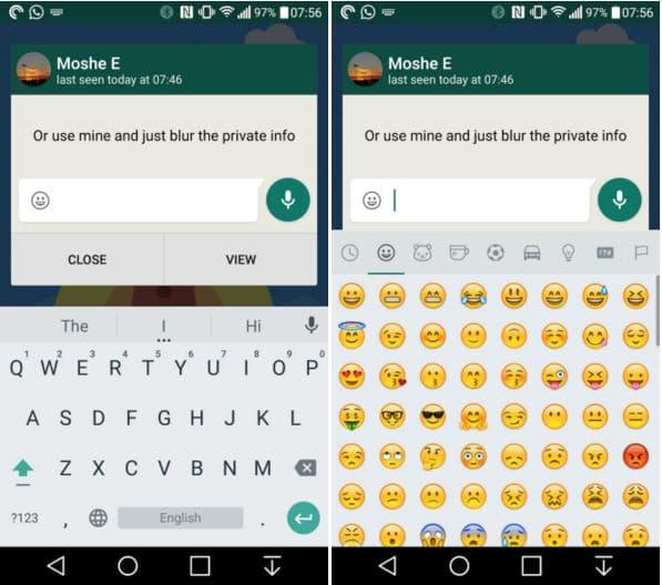 whatsapp repondre