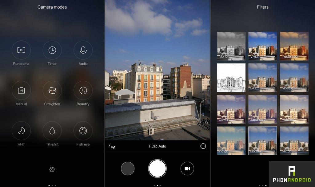 xiaomi mi5 application photo