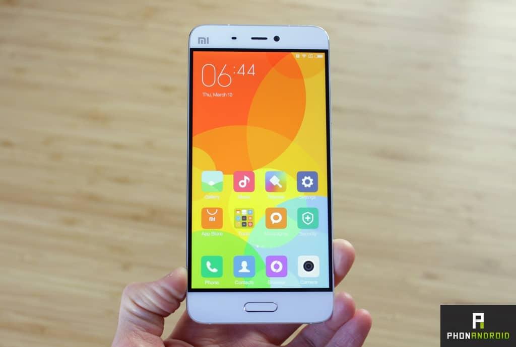 xiaomi mi5 screen