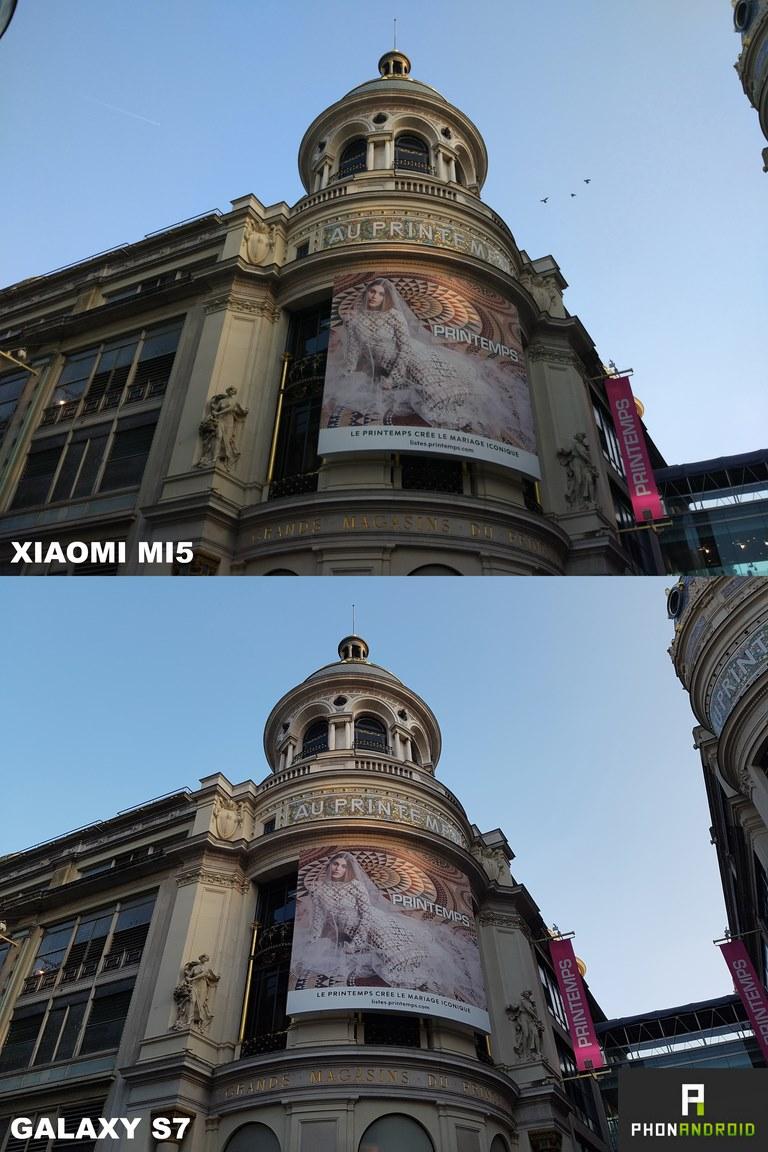 xiaomi mi5 vs galaxy s7 photo