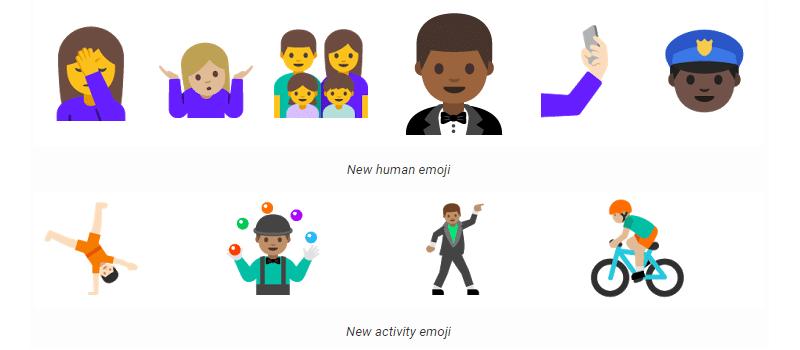 AndoidN-emoji
