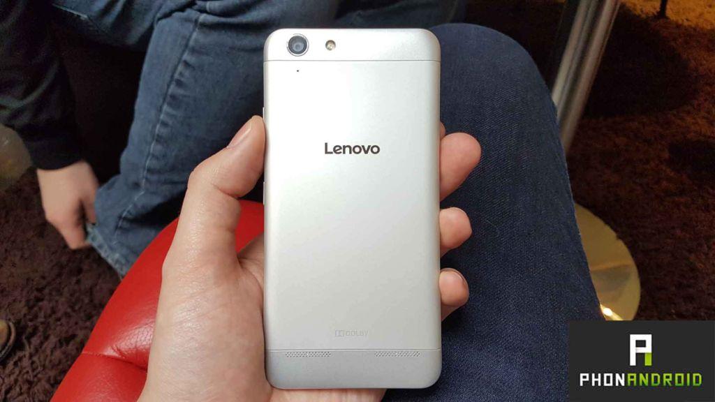 lenovo k5 prise en main du premier smartphone lenovo en. Black Bedroom Furniture Sets. Home Design Ideas