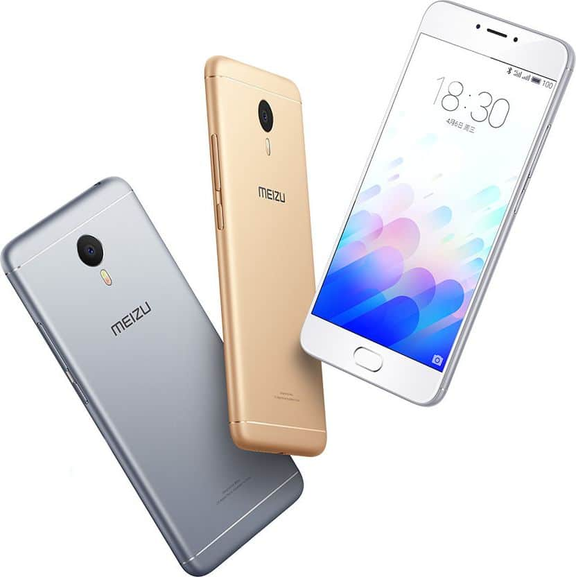 Meizu m3 note officiel