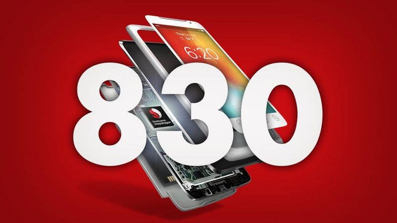 qualcomm snapdragon 830