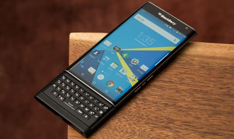 bleckberry smartphones android