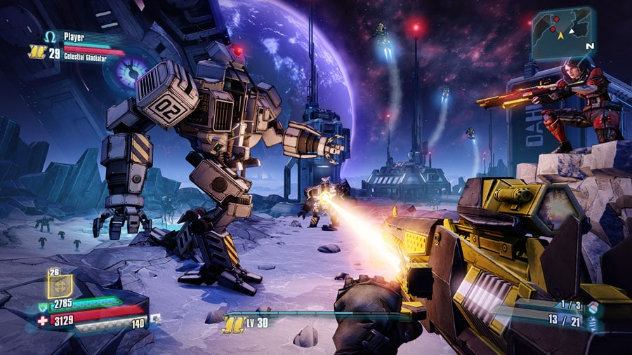 borderlands pre sequel nvidia shield android tv