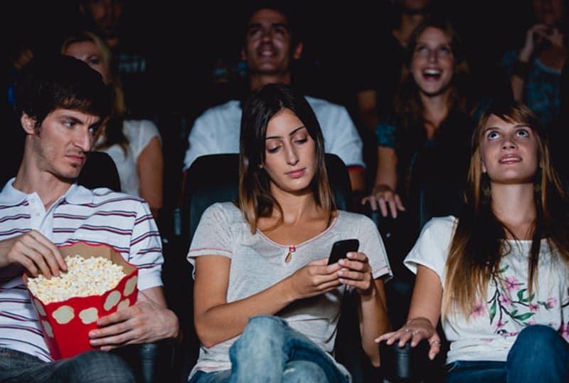 cinema accro smartphone