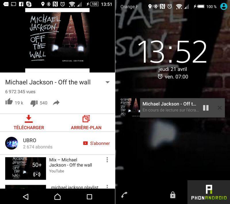 youtube comment couter de la musique en arri re plan sur android. Black Bedroom Furniture Sets. Home Design Ideas