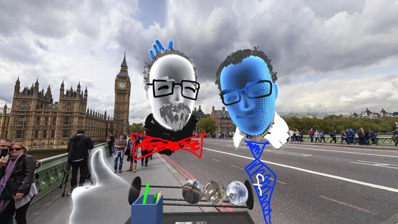 Facebook en réalité virtuelle