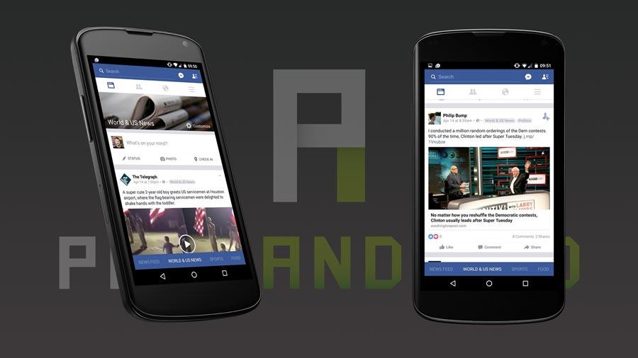 Facebook refonte fil actualité