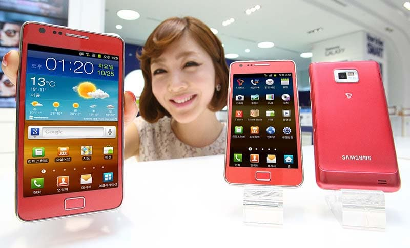 galaxy note rose pink