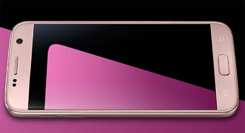 galaxy s7 pink gold