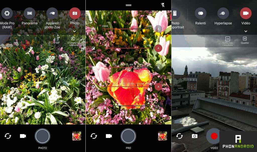 htc 10 application photo