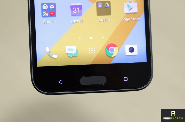 HTC 10 bouton