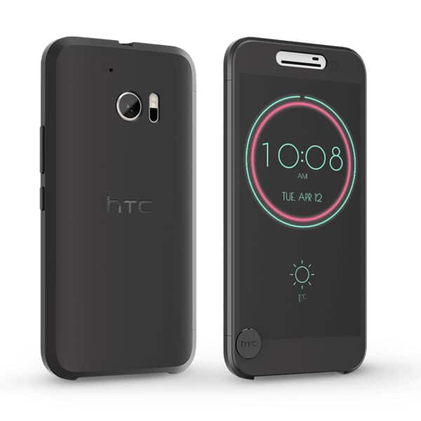 htc 10 coque ice view