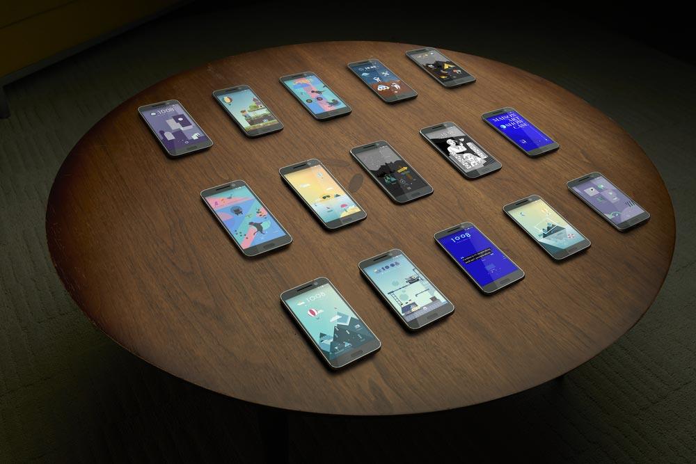 modèles de HTC 10