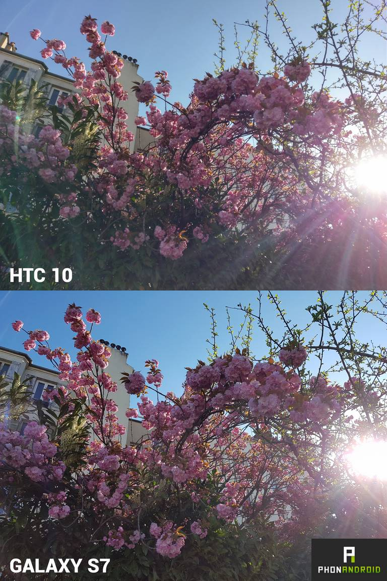 htc 10 photo galaxy s7