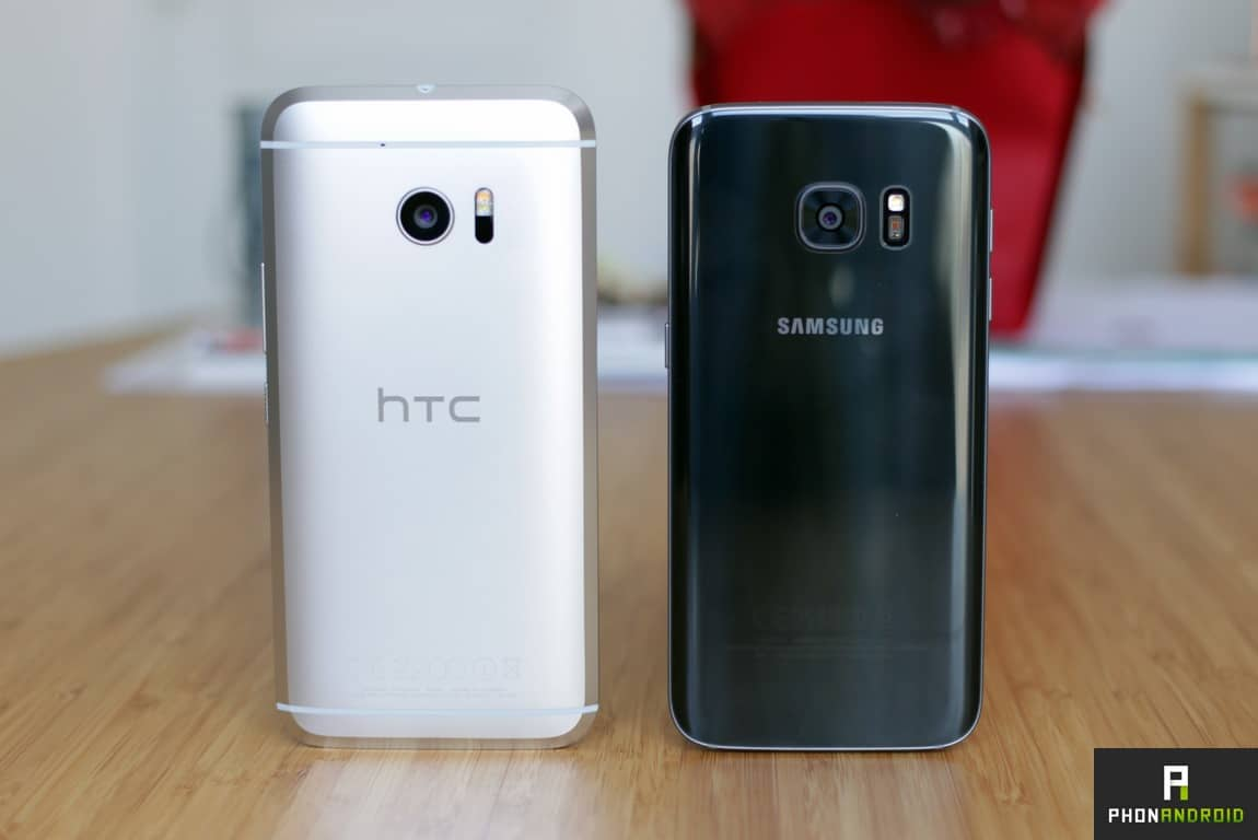 htc 10 vs galaxy s7