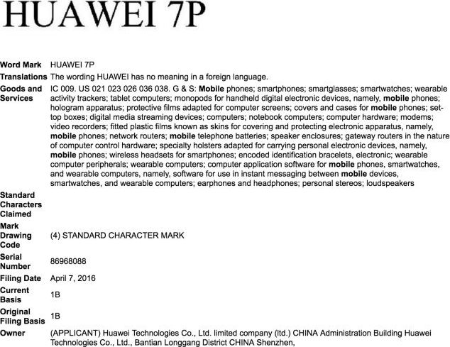 huawei 7p