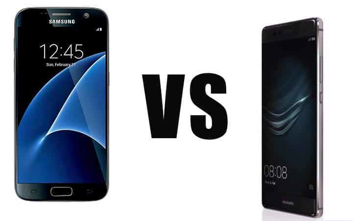 Huawei P9 contre Galaxy S7