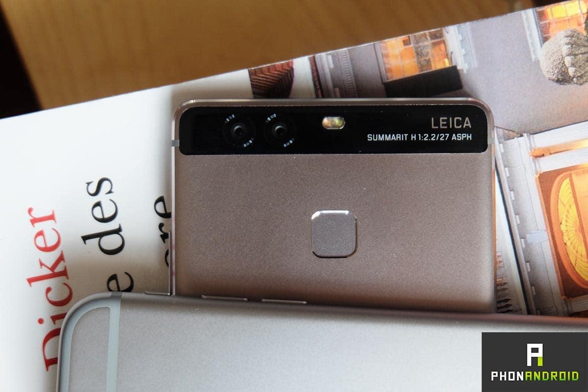 huawei p9 iphone 6s leica