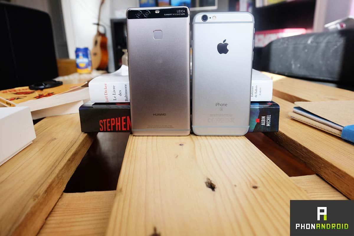 huawei p9 iPhone 6s
