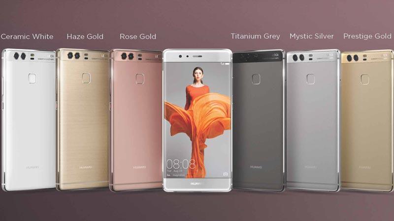 Huawei P9 coloris