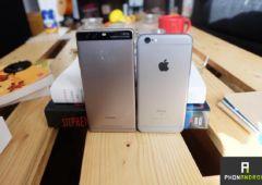 huawei p9 vs iPhone 6s