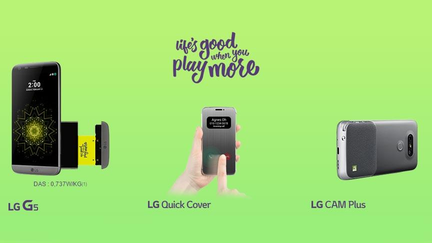 Précommandes du LG G5