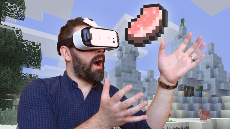 Minecraft en réalité virtuelle