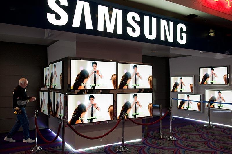 Samsung Display en chute