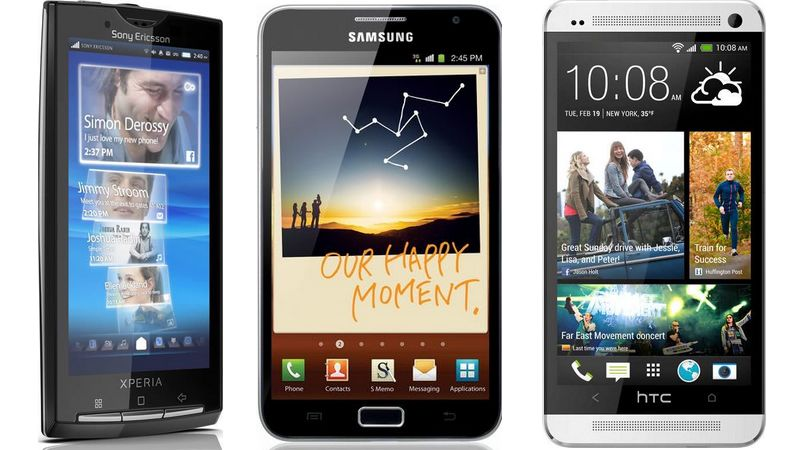 smartphones histoire android