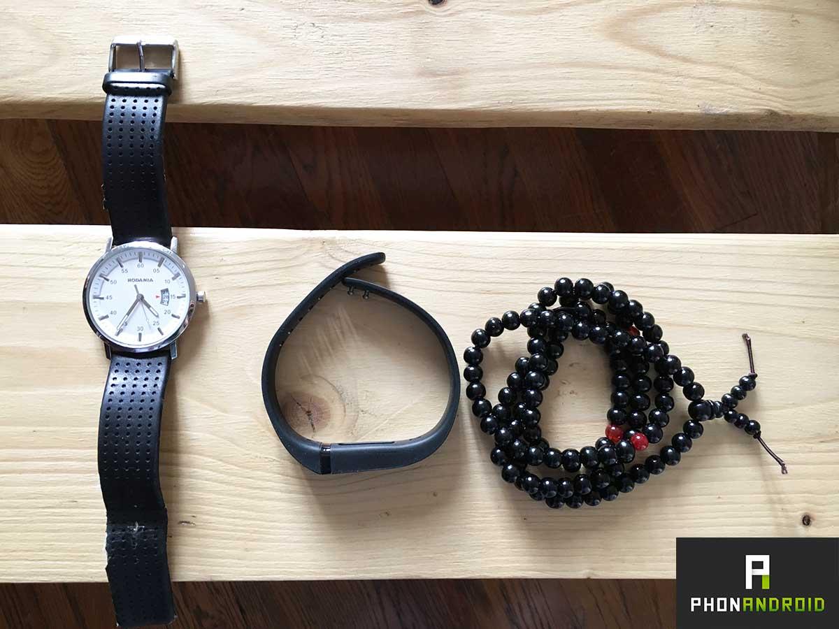 temoignage bracelet fitbit taille