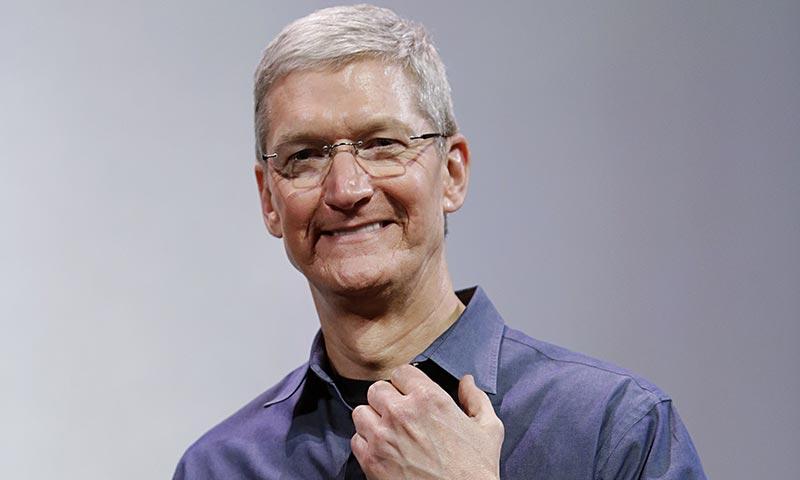 Tim Cook CEO d'Apple