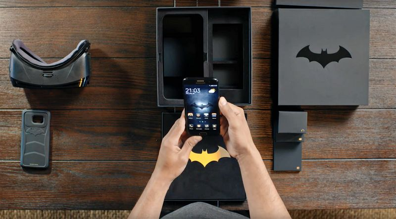 Galaxy S7 Edge batman edition