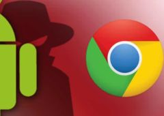 android chrome fausse maj spyware