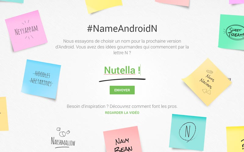 android nutella