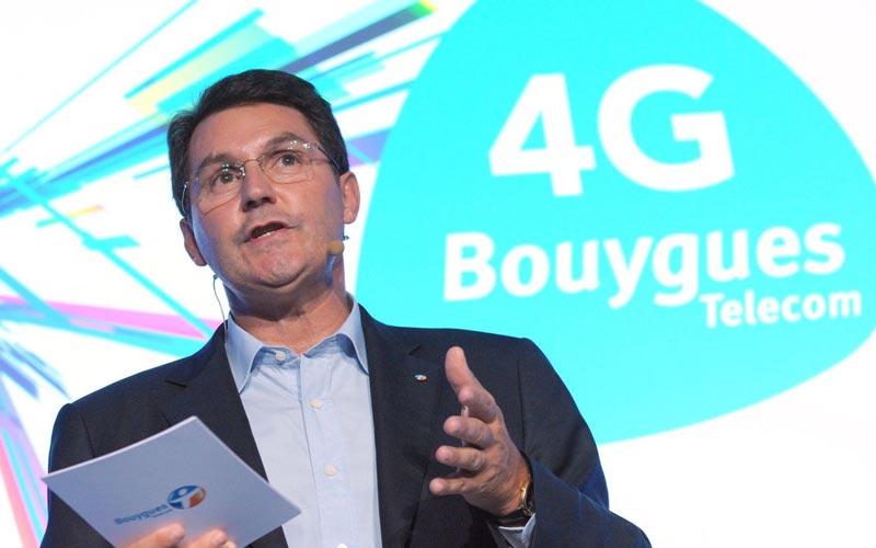 Olivier Roussat, PDG de Bouygues