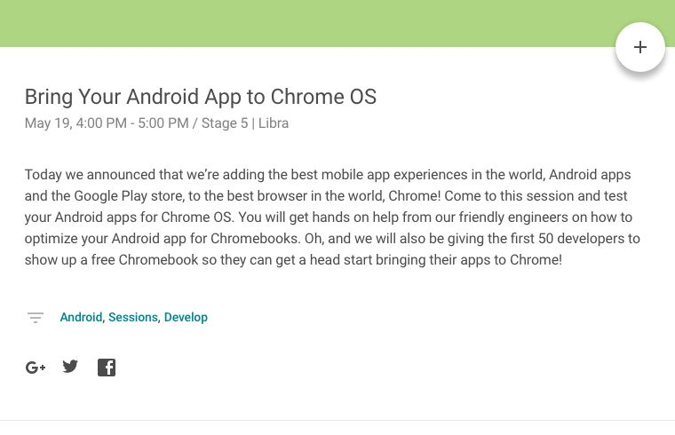 chrome os session