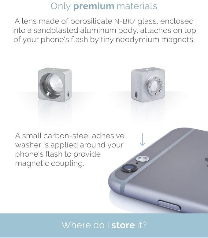 F.lens smartphone