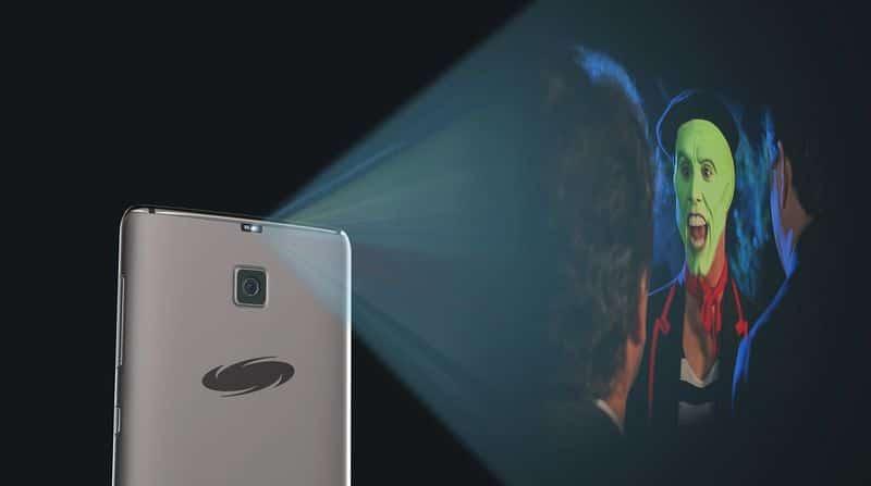 Galaxy S8 projecteur