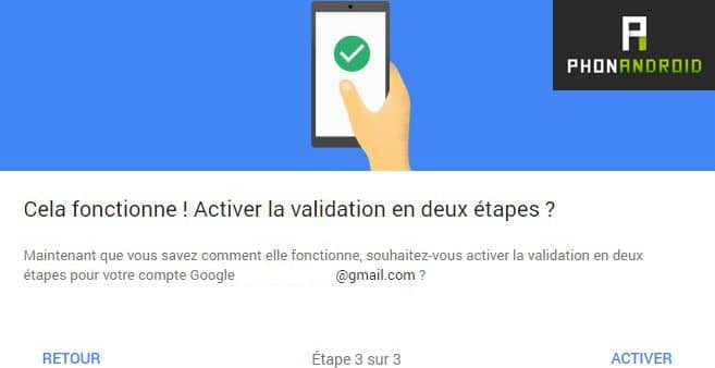 gmail activer