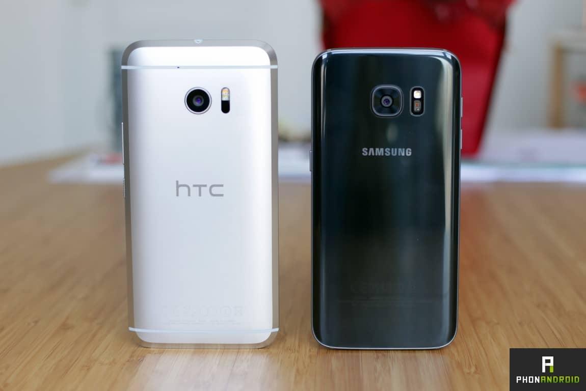HTC 10 galaxy s7