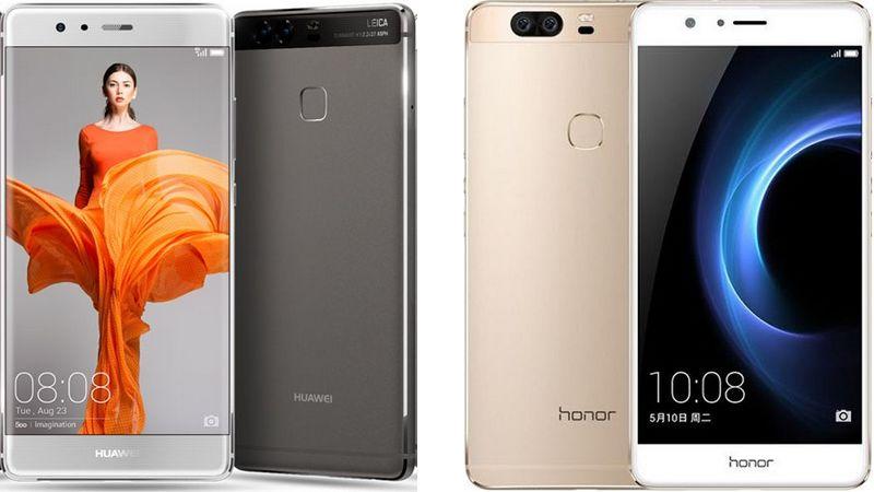 huawei P9 honor v8