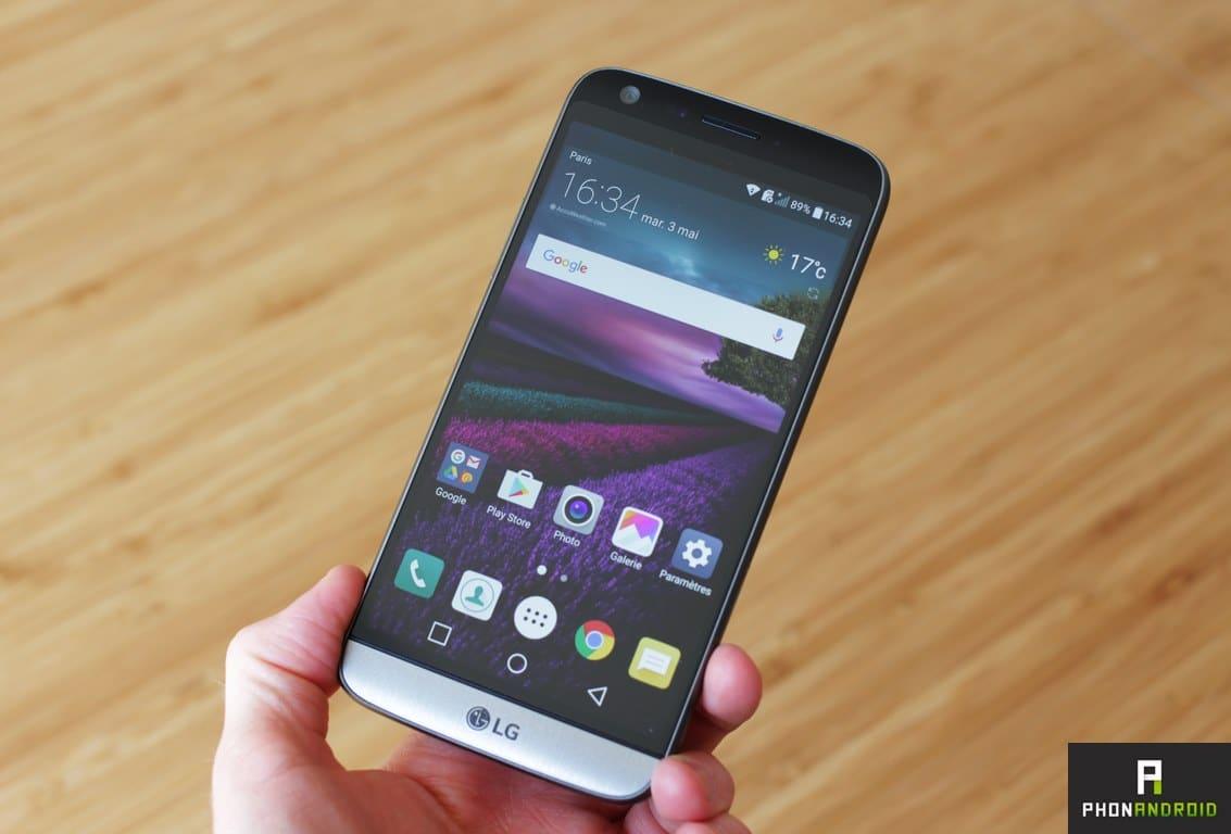 LG G5 astuces