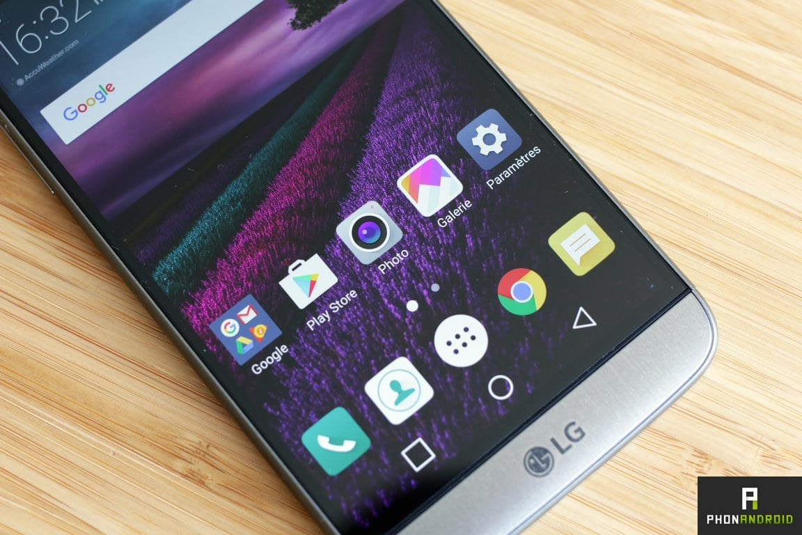 lg g5 definition ecran