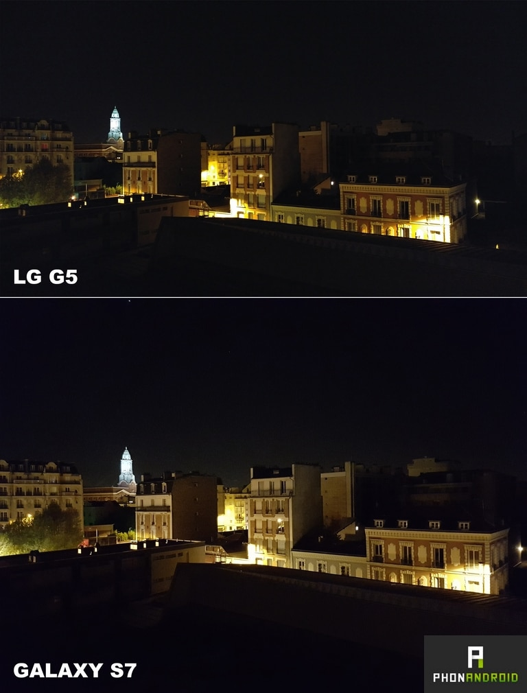 lg g5 photo nuit