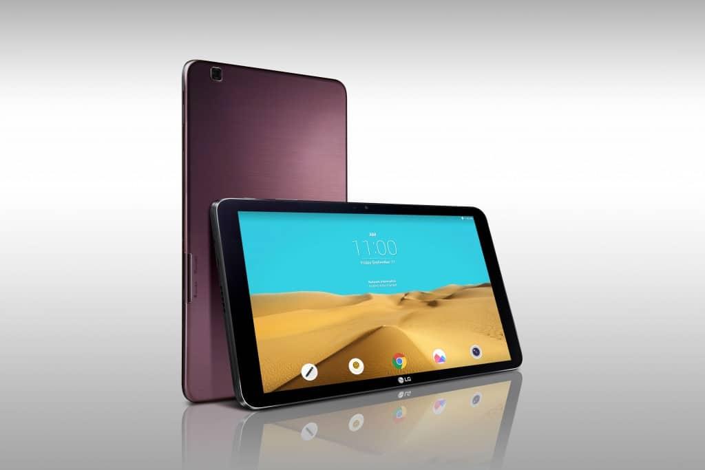 lg tablettes android