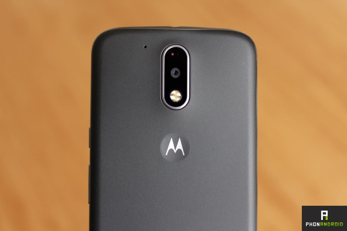 moto g4 appareil photo